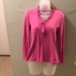 Lauren Ralph Lauren pink top